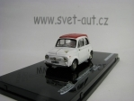Fiat Abarth 595 SS 1964 White Red 1:43 Vitess